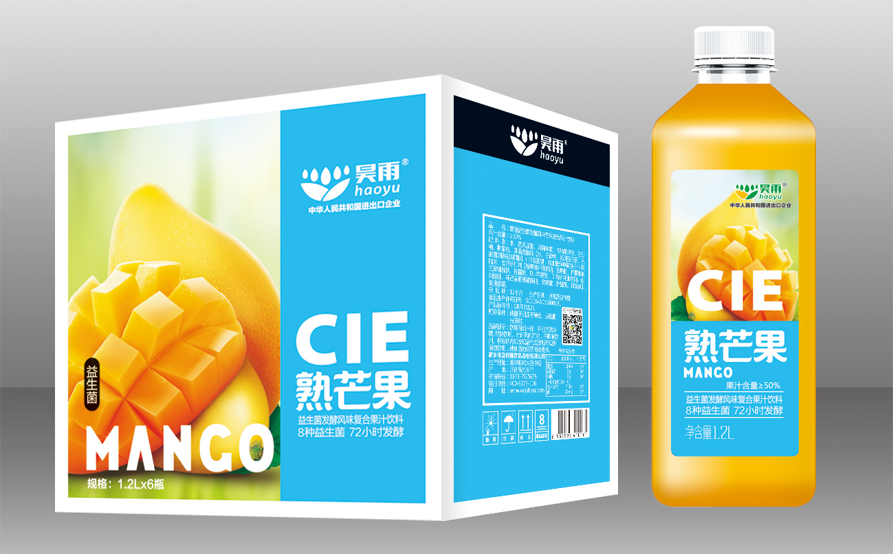 1.2L 芒果汁